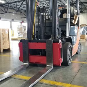 Rice Lake forklift scale
